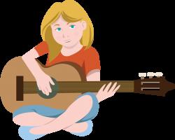 guitar clipart kids
