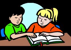 homework clipart student