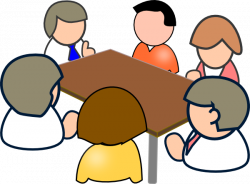 meeting clipart animated