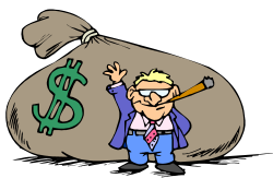 People clipart money