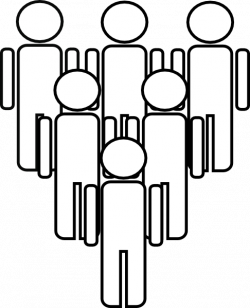 People clipart large group