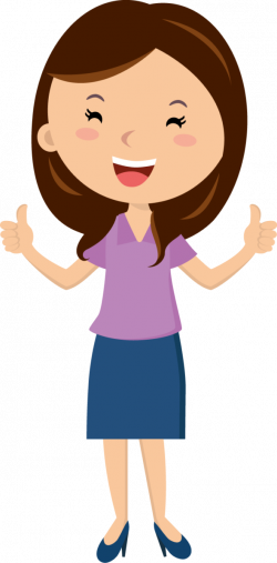 People clipart thumbs up