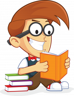 reading clipart person