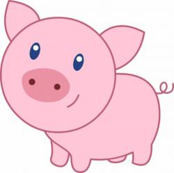 pig clipart cute