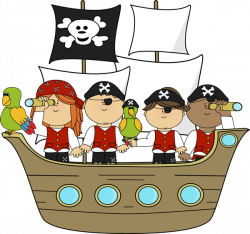 pirate clipart ship