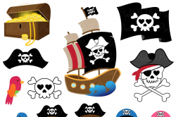 pirate clipart cute