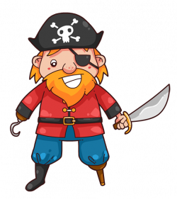 pirate clipart scary