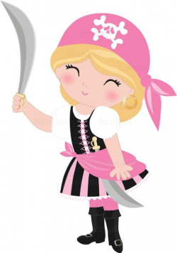 pirate clip art pink