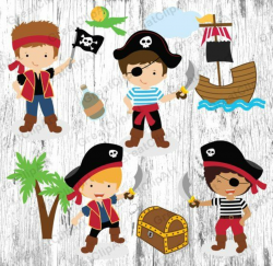 pirate clipart kids