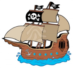 pirate clip art ship