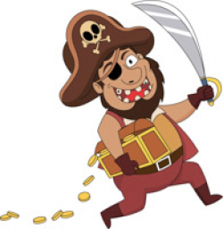 pirate clipart captain