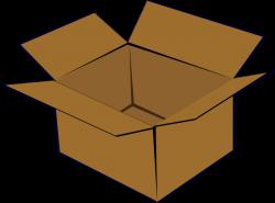 box clipart cartoon