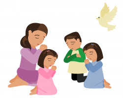 prayer clipart group