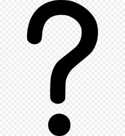 question mark transparent symbol