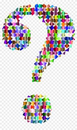 question mark clipart rainbow