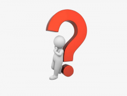 question mark clipart thinking
