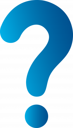 question mark clipart teal