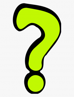 question mark clipart yellow