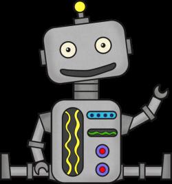 robot clipart cartoon