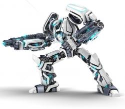 robot clipart futuristic