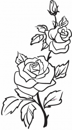 roses clipart tattoo