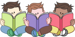 reading clipart student