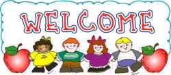 welcome clipart cartoon