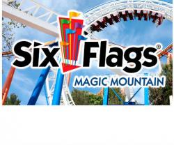six flags logo magic mountain