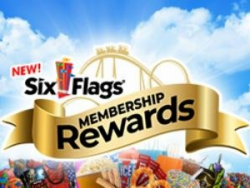 six flags logo chicago