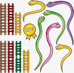 snake clipart and ladder