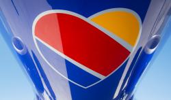 southwest airlines logo branding