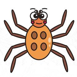 spider clipart alien