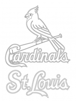st louis blues logo coloring