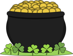 pot of gold clipart cauldron