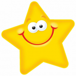 star clipart smiley
