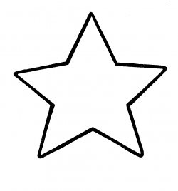 star clipart black and white small