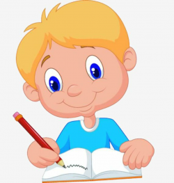 writing clipart baby