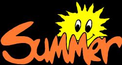 writing clipart summer