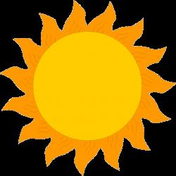 clipart sun cartoon