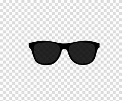 sunglasses transparent background dark