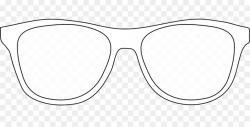 glasses clipart outline