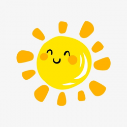 sun transparent cartoon