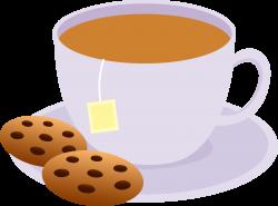 tea clipart cartoon