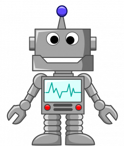 robot clipart transparent background