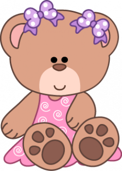 teddy bear clipart colorful