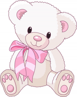 teddy bear clipart baby girl