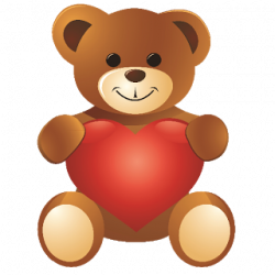 teddy bear clipart valentine
