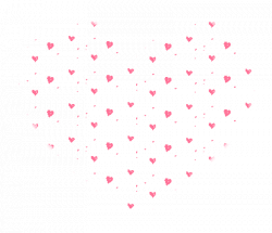 transparent heart small