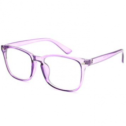 glasses transparent purple