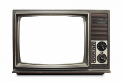 transparent tv old